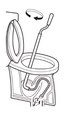 トイレ の つまり 解消